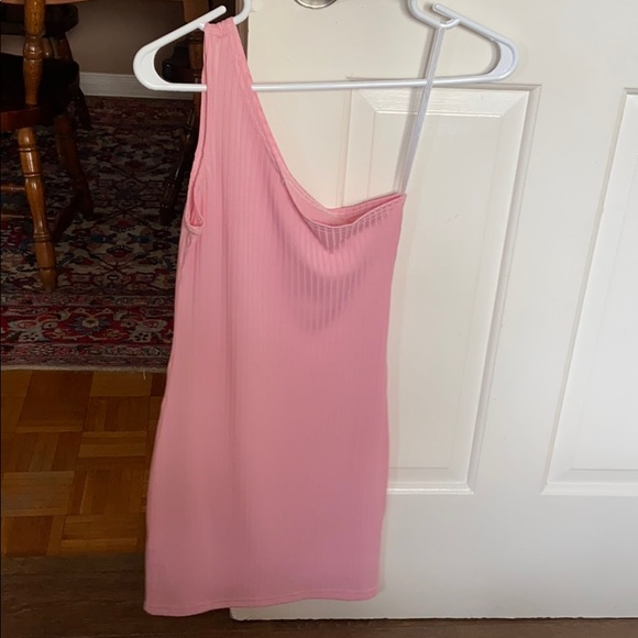 PINK DRESS GREAT CONDITION WORN ONCE FOR SHOOT
